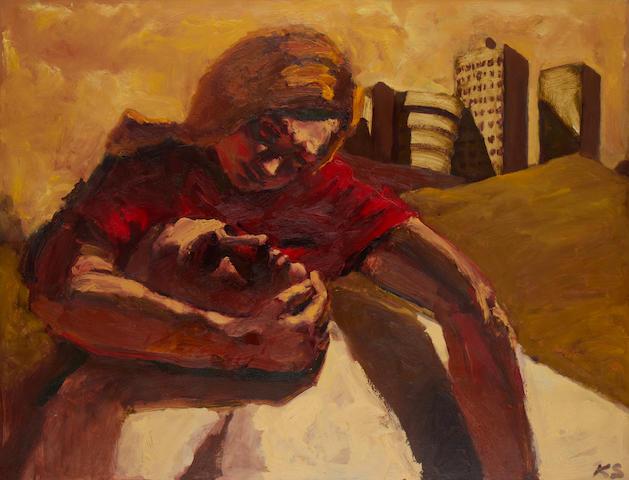 Kevin Sinnott (British, born 1947) Cityscape