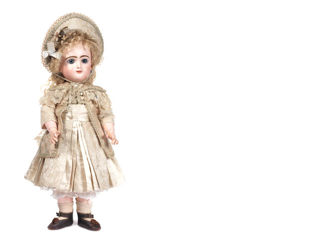 Rare Bebe Francaise bisque head doll