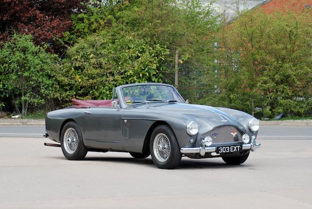 1959 Aston Martin DB MkIII Drophead Coupé  Chassis no. AM300/3/1842 Engine no. DBA/1481