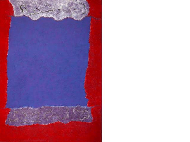 Theodoros Stamos (American, 1922-1997) Infinity Field Lefkada Series 168 x 122.5 cm.