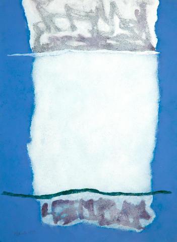 Theodoros Stamos (American, 1922-1997) Morning (24c) 77 x 57 cm.