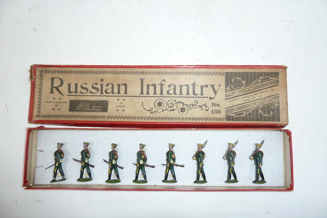 RARE Britains set 133, Russian Infantry 8