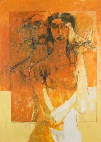 Jamil Naqsh (Pakistan, born 1938) Untitled,