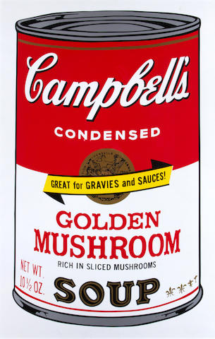 After Andy Warhol (American, 1928-1987) Two Campbell's Soup 2
