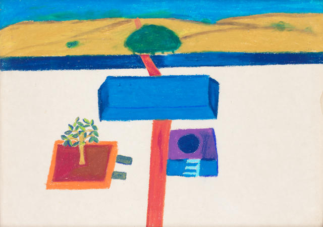 Bhupen Khakhar (India, 1934-2003) Untitled