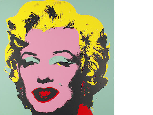 After Andy Warhol (American, 1928-1987) Marilyn The complete set of 10 screenprints in colours, on stiff wove, each with the Sunday B. Morning stamp verso, the full sheets, each 915 x 915mm (36 x 36in)(SH) 10 unframed