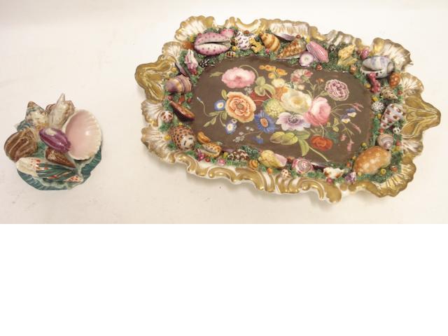 A Chamberlain's Worcester dish Circa 1811-1840