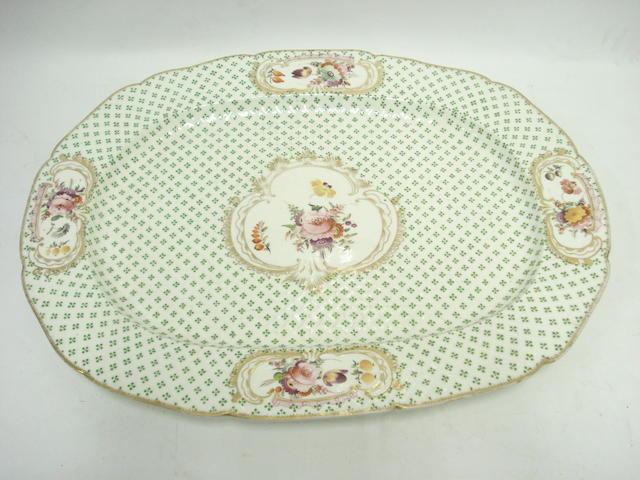 A 19th century earthenware ashet