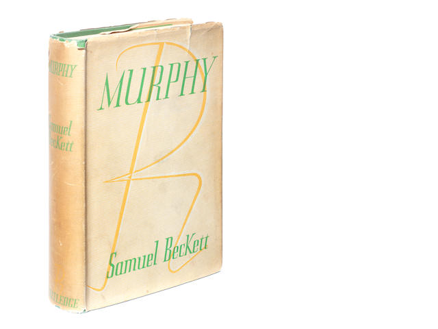 BECKETT (SAMUEL) Murphy, FIRST EDITION, FIRST BINDING, DUST-JACKET, 1938