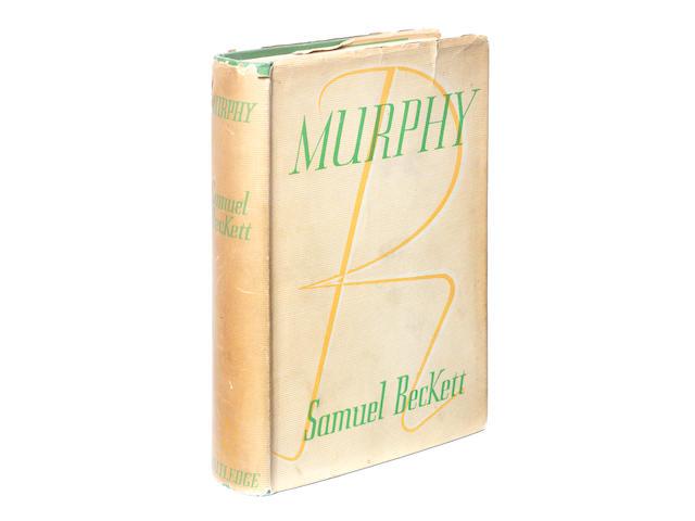 BECKETT (SAMUEL) Murphy, FIRST EDITION, FIRST BINDING, DUST-JACKET, 1938