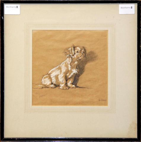 "Cecil Charles Windsor Aldin, RBA (British, 1870-1935) ""Bimbo"""
