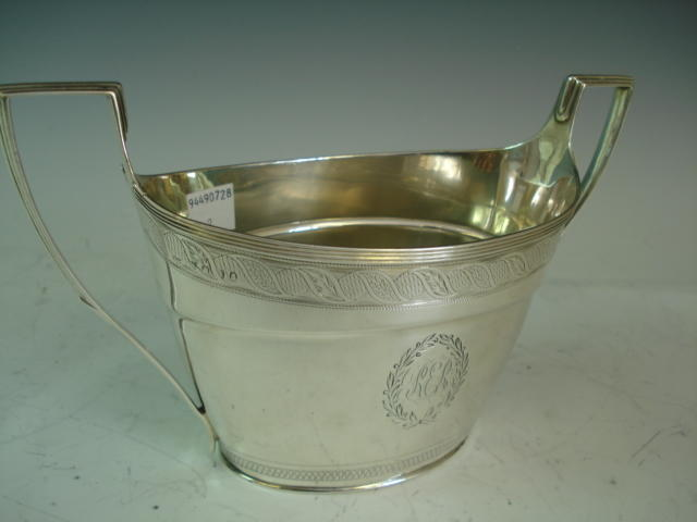 Georgian sugar bowl (oval)