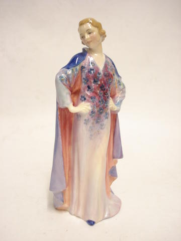 A Royal Doulton figure of Clotilde HN1599