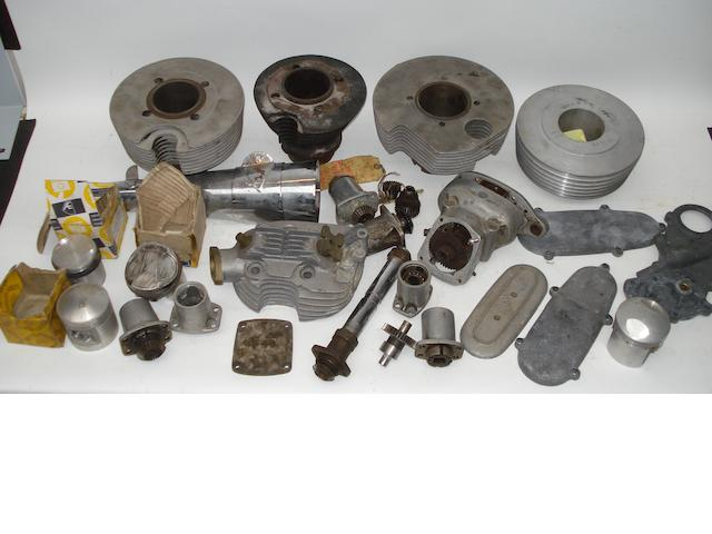 A large selection of Norton Manx spares,