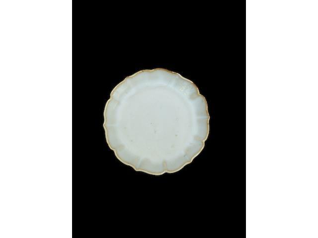 An outstanding Junyao 'lotus' dish Song dynasty