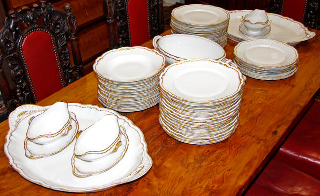 Theodore Haviland, Limoges dinner service,