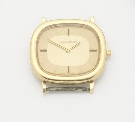 Jaeger-LeCoultre. An 18ct gold manual wind wristwatchCase No.1346662, Movement No.2029824, 1970's