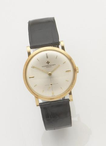 Vacheron Constantin. An 18ct gold manual wind wristwatch 1970's