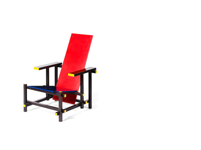 Rietveld Gerrit  Red/Blue chair