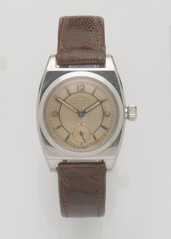 Rolex. A stainless steel manual wind wristwatchImperial, Ref:3116, Case No.112236, 1940's