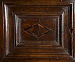 A rare Elizabeth I/James I oak cupboard on stand Circa 1600