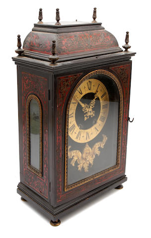 A 17th century style 'Boulle-work' bracket clock The movement stamped Pinchn fils aine Paris