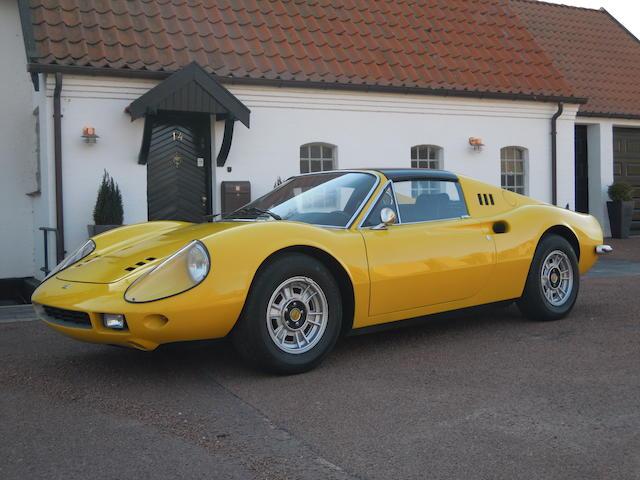 1972 Ferrari Dino 246GTS Spyder  Chassis no. 04180