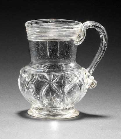 A very rare caudle cup or small mug, circa 1700