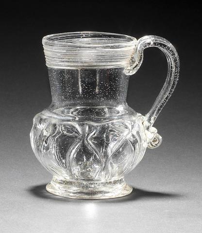 A very rare caudle cup or small mug, circa 1700