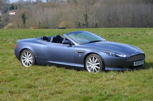 2005 Aston Martin DB9 Volante  Chassis no. SCFAC02A76GB04345 Engine no. AM04/14180