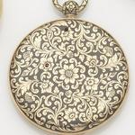 Unsigned. An early 19th century enamel open face key wind pocket watch Case No.39464