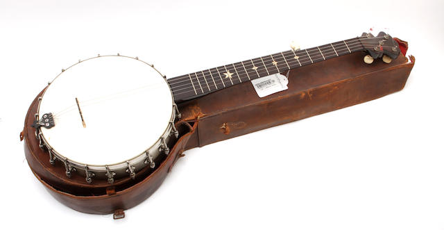 A six string banjo