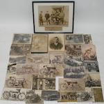 The Eli Clark collection of medals and photographs relating to Douglas and The Leader motorcycles,