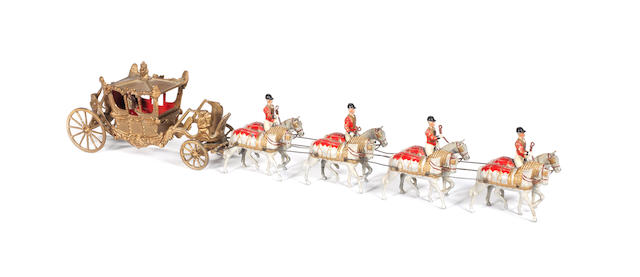 RARE Britains set 1470, STATE COACH OF EDWARD VIII 10