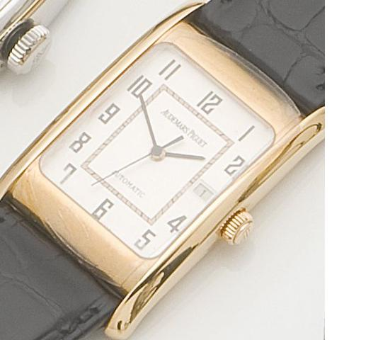 Audemars Piguet. An 18ct gold automatic calendar wristwatch Edward Piguet Self Winding, Case No.E-16888, Movement No.483437, Recent