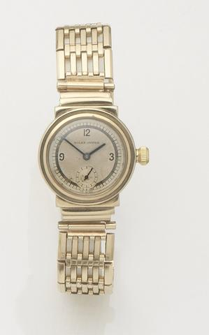 Rolex. A 9ct gold manual wind bracelet watch together with fitted Rolex boxOyster, Case No.32191, Glasgow Hallmark for 1935