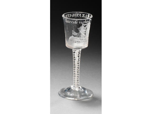 A Success to the Eagle friggate glass ESTIMATE TO BE CONFIRMED
