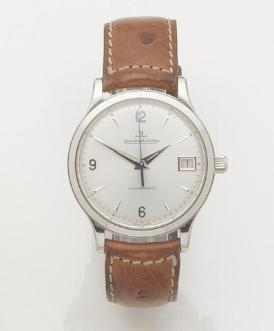 Jaeger-LeCoultre. A stainless steel automatic calendar wristwatch Master Control, Ref:145.8.89, Case No.1973, Movement No.2749114, Recent