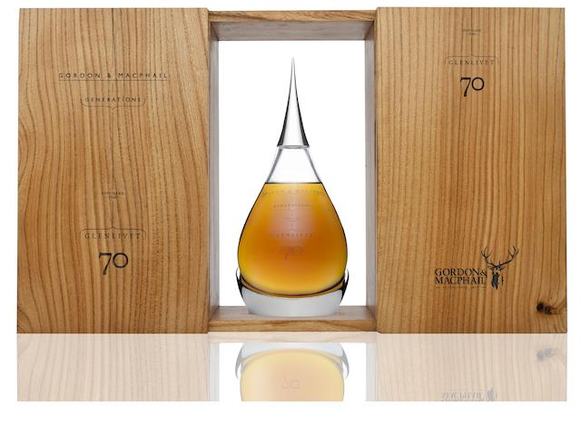 Gordon & MacPhail Generations Glenlivet 70 Years Old (Distilled 1940)