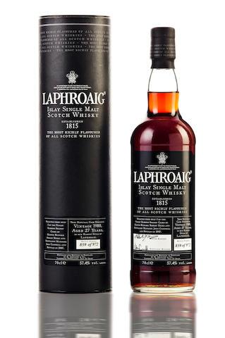 Laphroaig- 1980- 27 year old