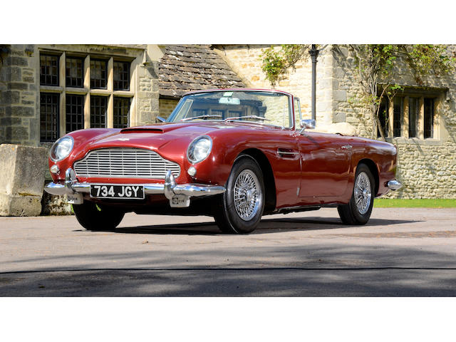 In the present ownership since 1978,1963 Aston Martin DB5 Convertible  Chassis no. DB5C/1269/R Engine no. 400/1341