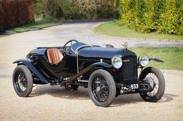 1926 Amilcar Model G Sports  Chassis no. 71946 Engine no. 71828