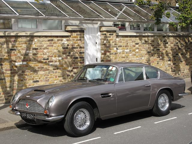 1970 Aston Martin DB6 Mk2 Vantage Sports Saloon  Chassis no. DB6MK2/4242/R Engine no. 400/4568/VC