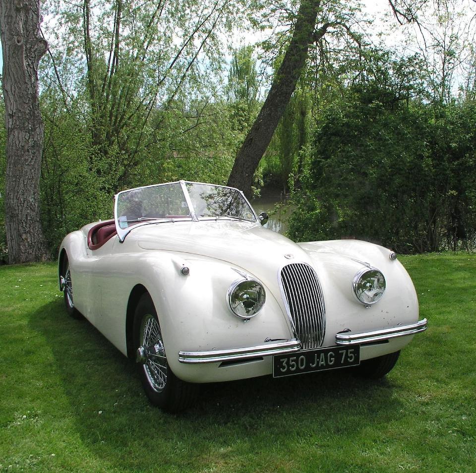 1953 Jaguar XK 120 Roadster  Chassis no. S 673526 Engine no. W 7362-8S