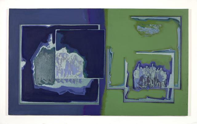 Dimitris Perdikidis (Greek, 1922-1989) Untitled 70 x 110 cm.