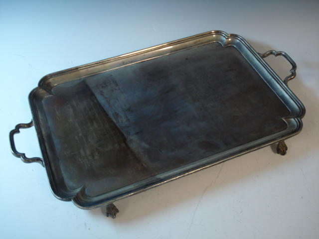 2 handled tray