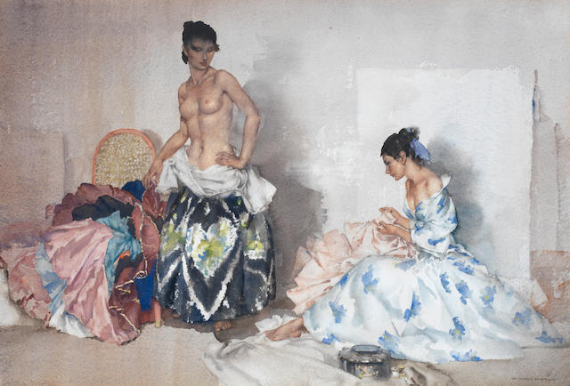 Sir William Russell Flint R.A., P.R.W.S. (British, 1880-1969) Studio Accessories