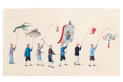 Chinese school Possibly Cao Kai Tai (Cantonese), circa 1810