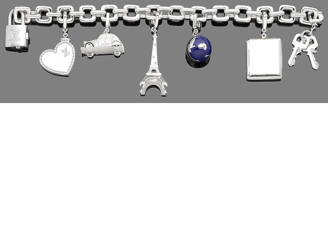 A charm bracelet, by Louis Vuitton (7)