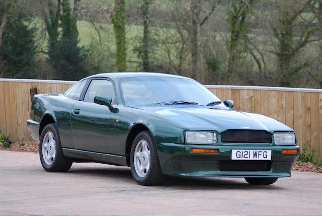 Property of a deceased's estate,1990 Aston Martin Virage Coupé  Chassis no. SCFCAM1SXLBR50023 Engine no. 89/50023/M